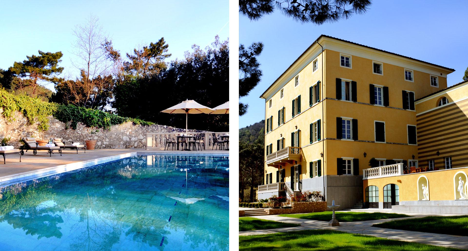 Albergo Villa Casanova - boutique hotel in Lucques