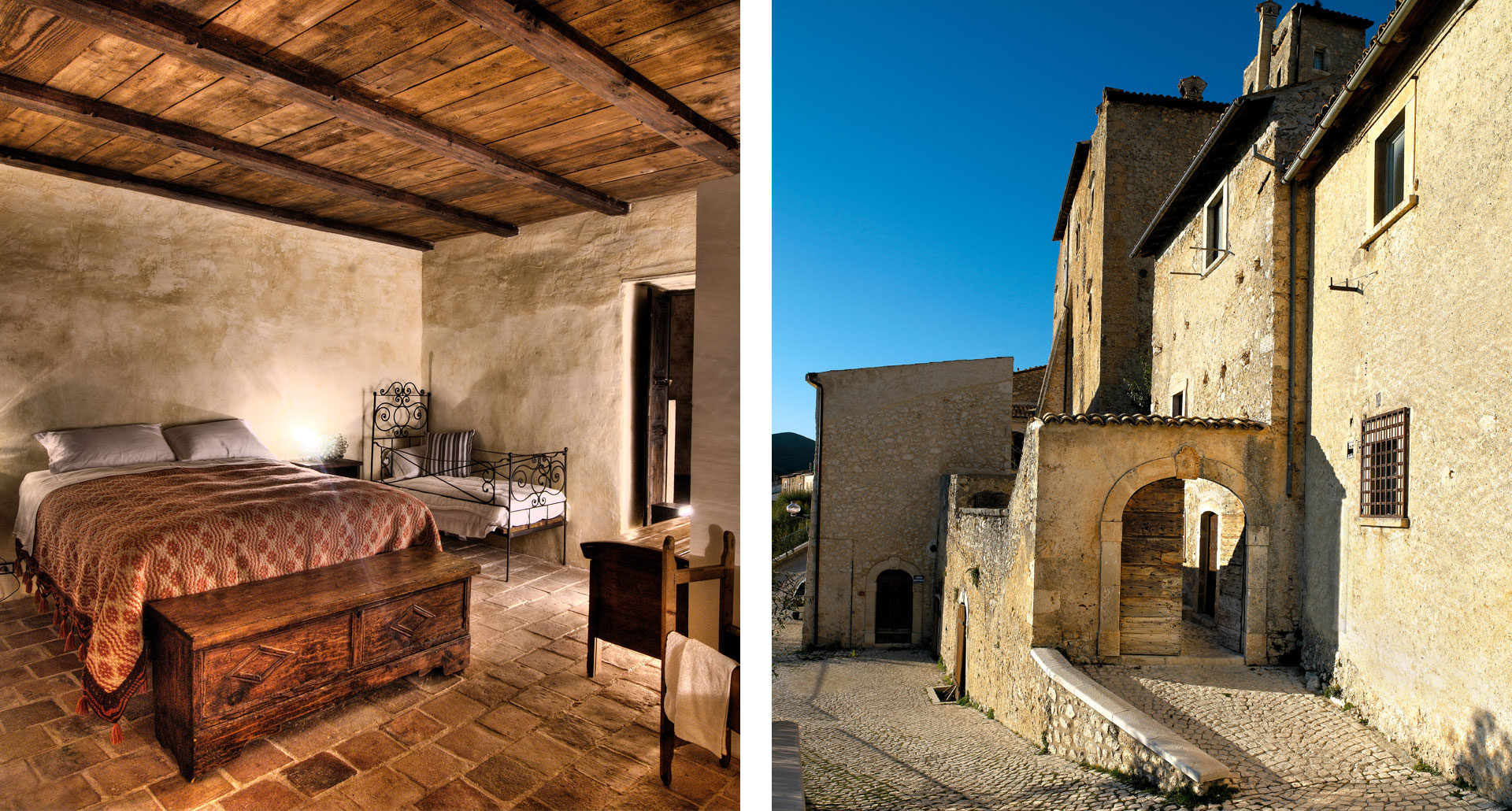 Sextantio - boutique hotel in Santo di Sessanio