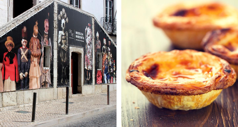 Museum and famous pasteis de nata