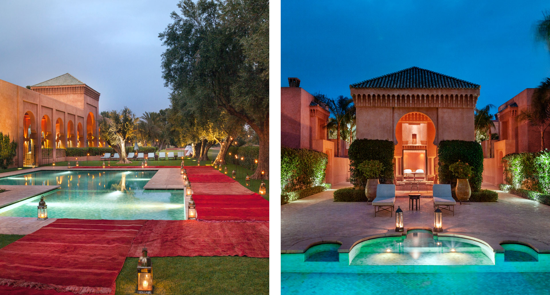 Amanjena - boutique hotel in Marrakech