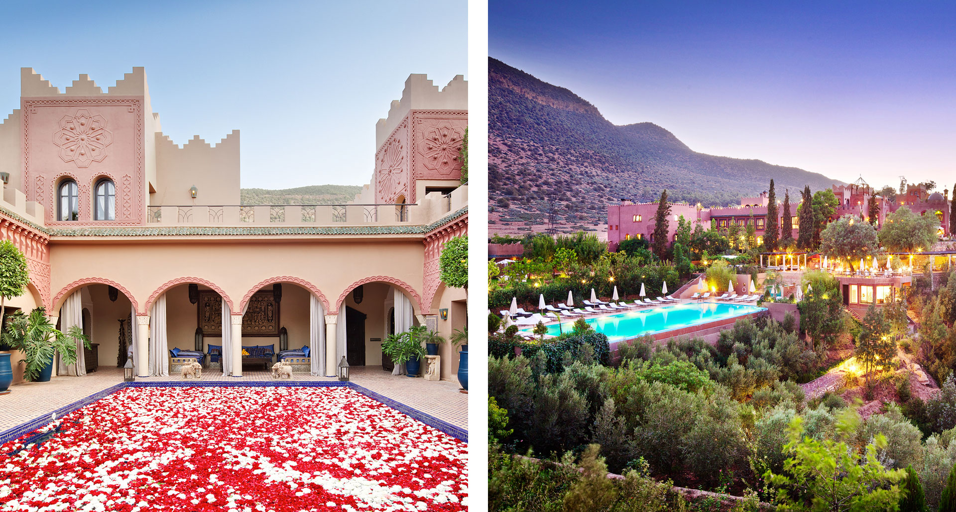 Kasbah Tamadot - boutique hotel in Atlas Mountains