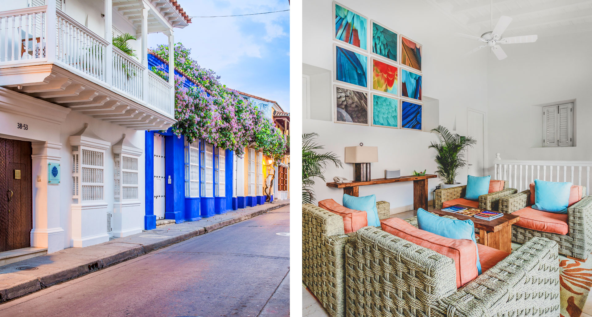 Casa la Cartujita - boutique hotel in Cartagena
