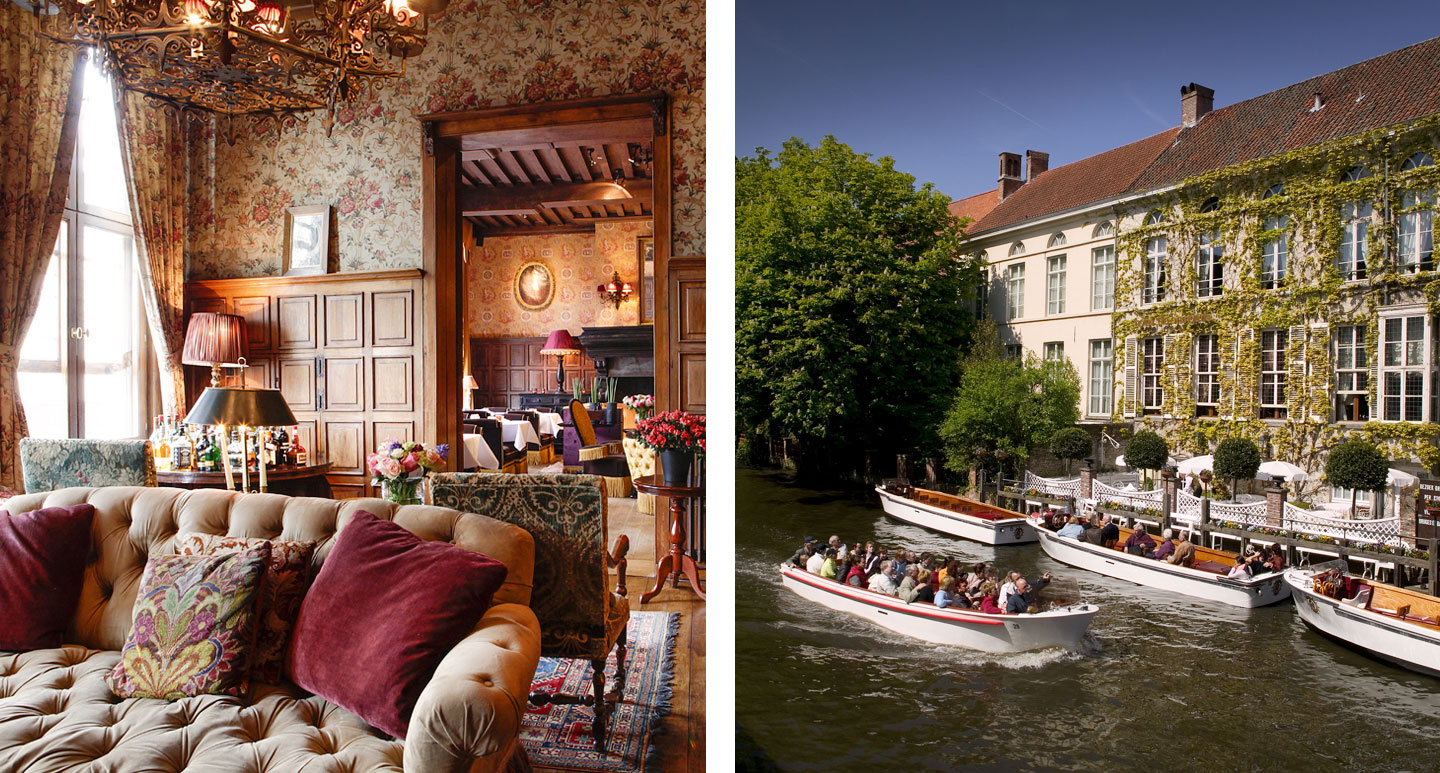 Hotel de Orangerie - boutique hotel in Bruges