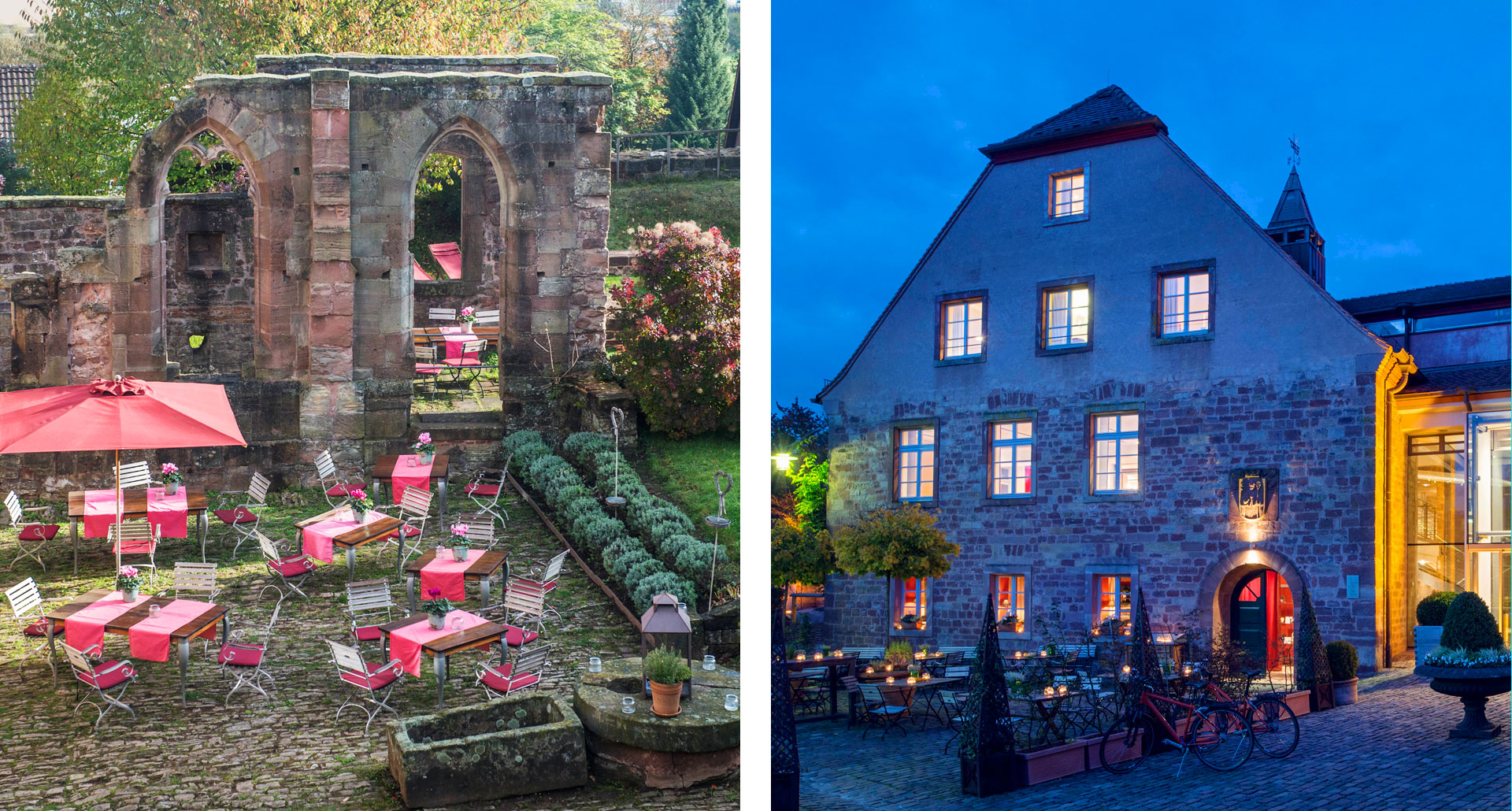 Kloster Hornbach - boutique hotel in Hornbach