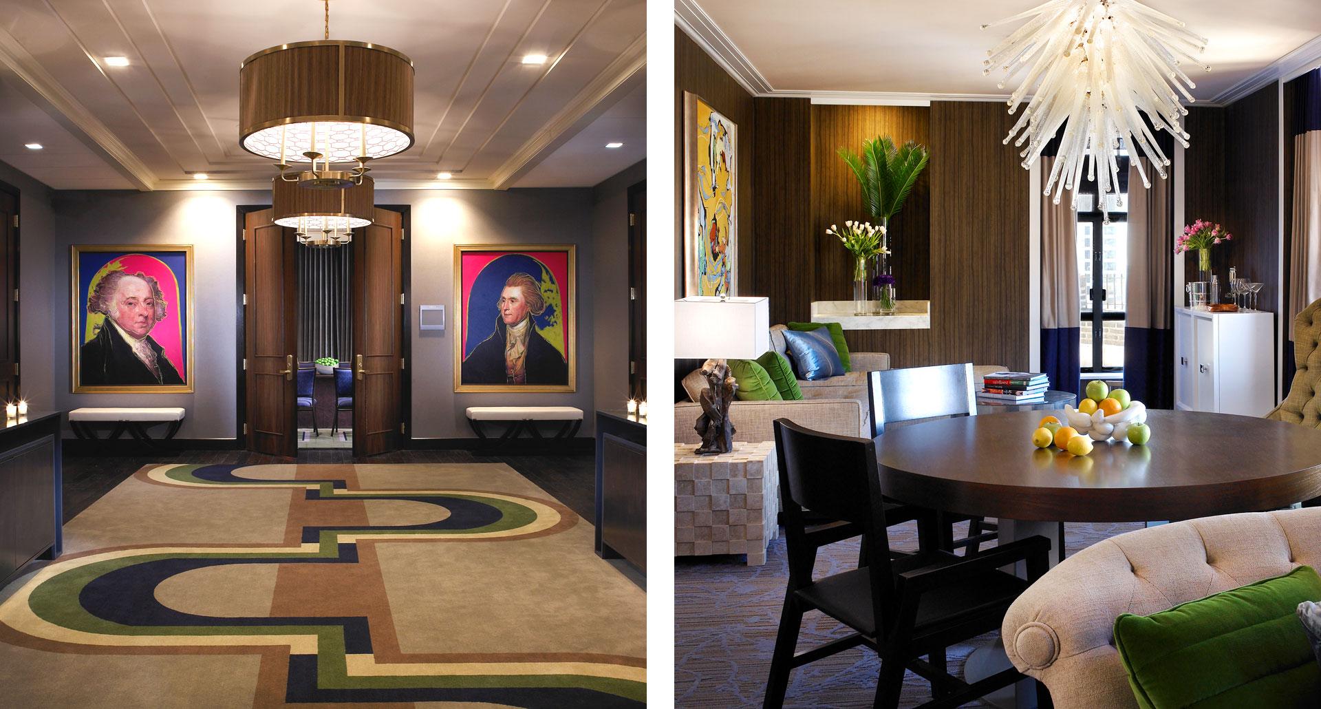 Hotel Palomar Philadelphia - boutique hotel in Philadelphia