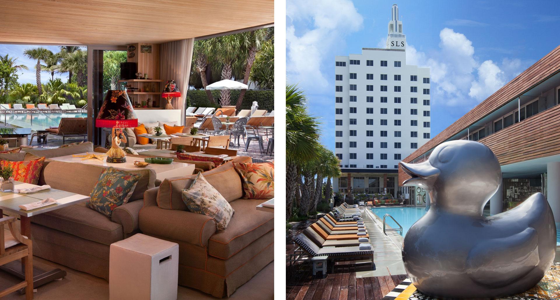 SLS South Beach - boutique hotel in Miami