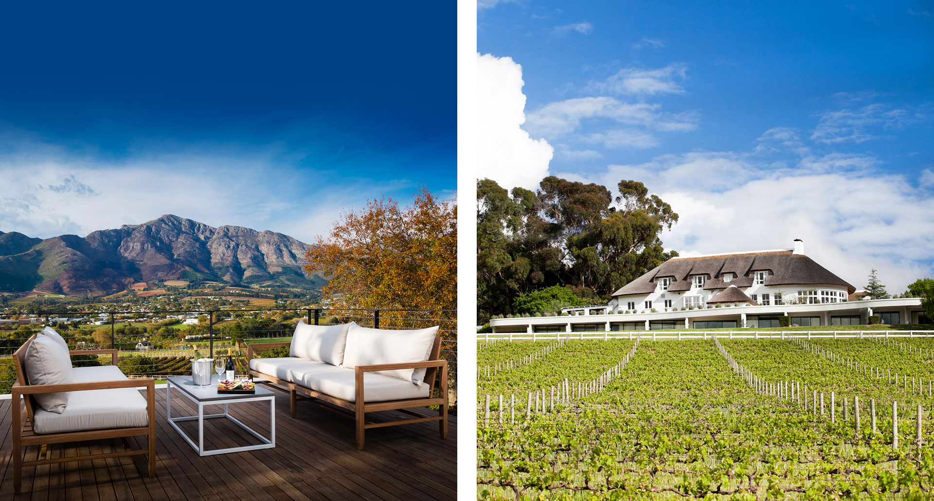 Mont Rochelle Hotel - boutique hotel in Franschhoek