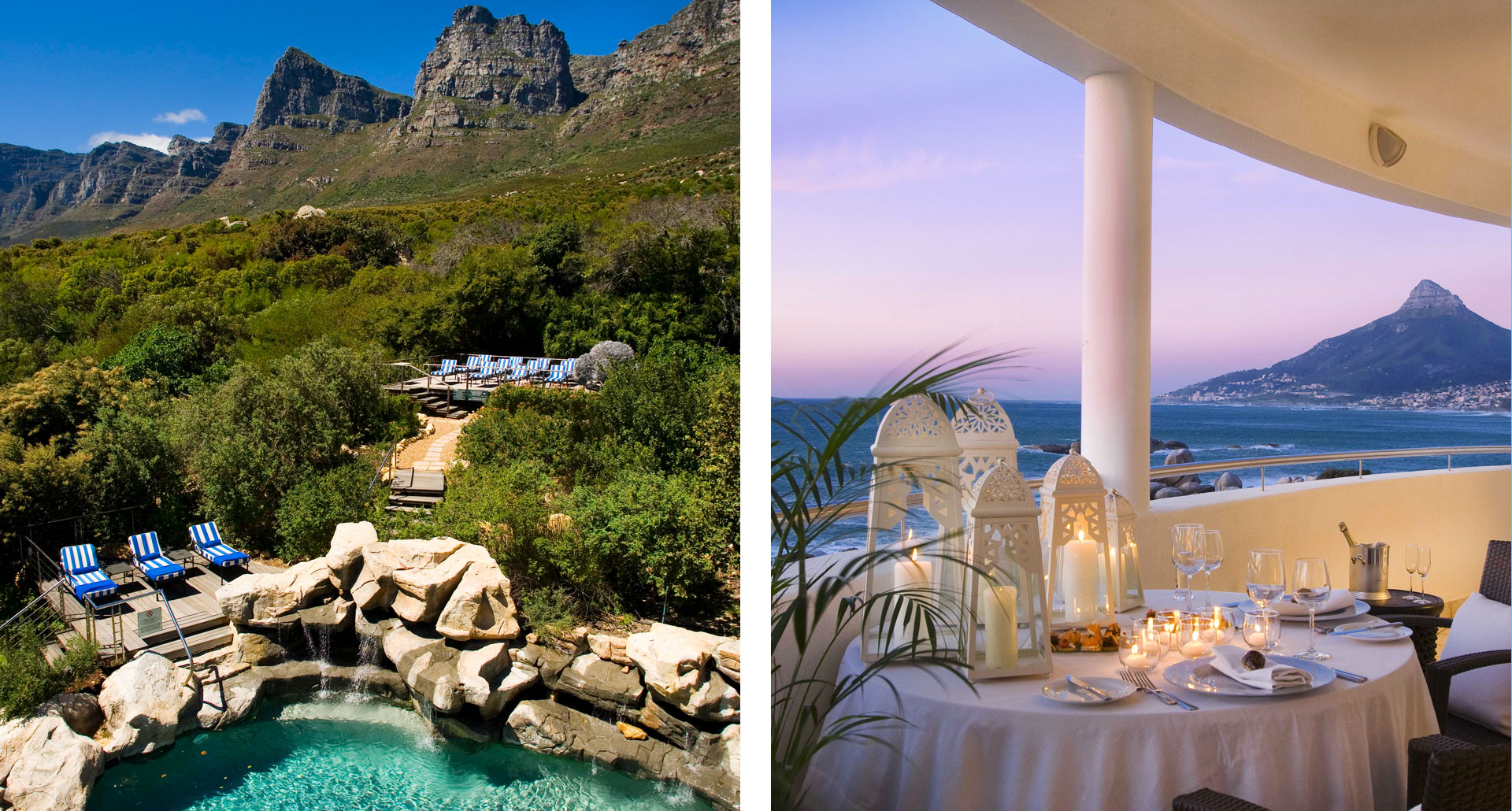 Twelve Apostles Hotel - boutique hotel in Camps Bay