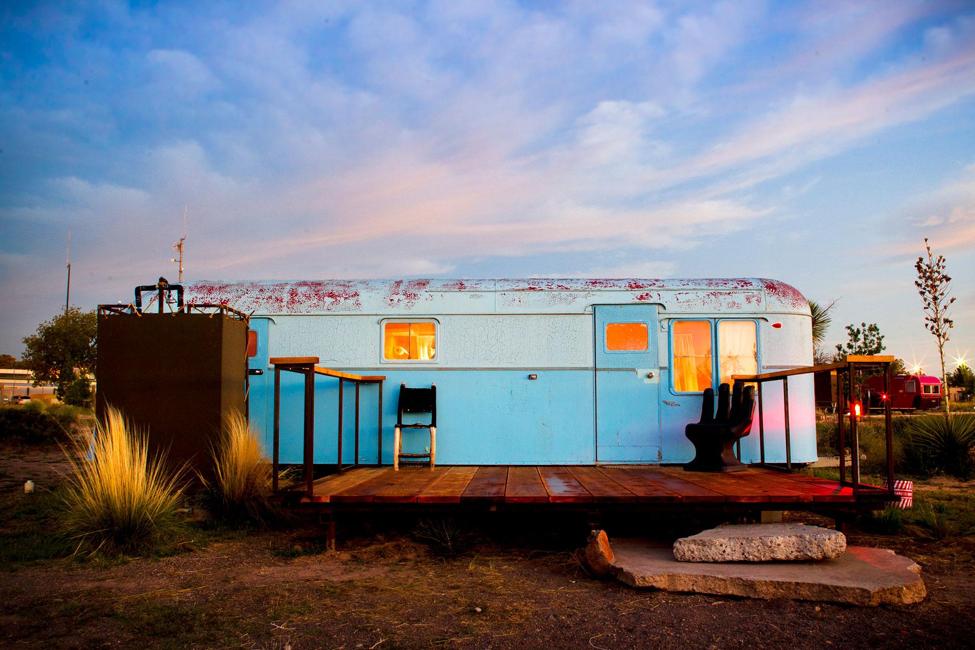El Cosmico Hotels — Kozy Coach, Marfa, Texas
