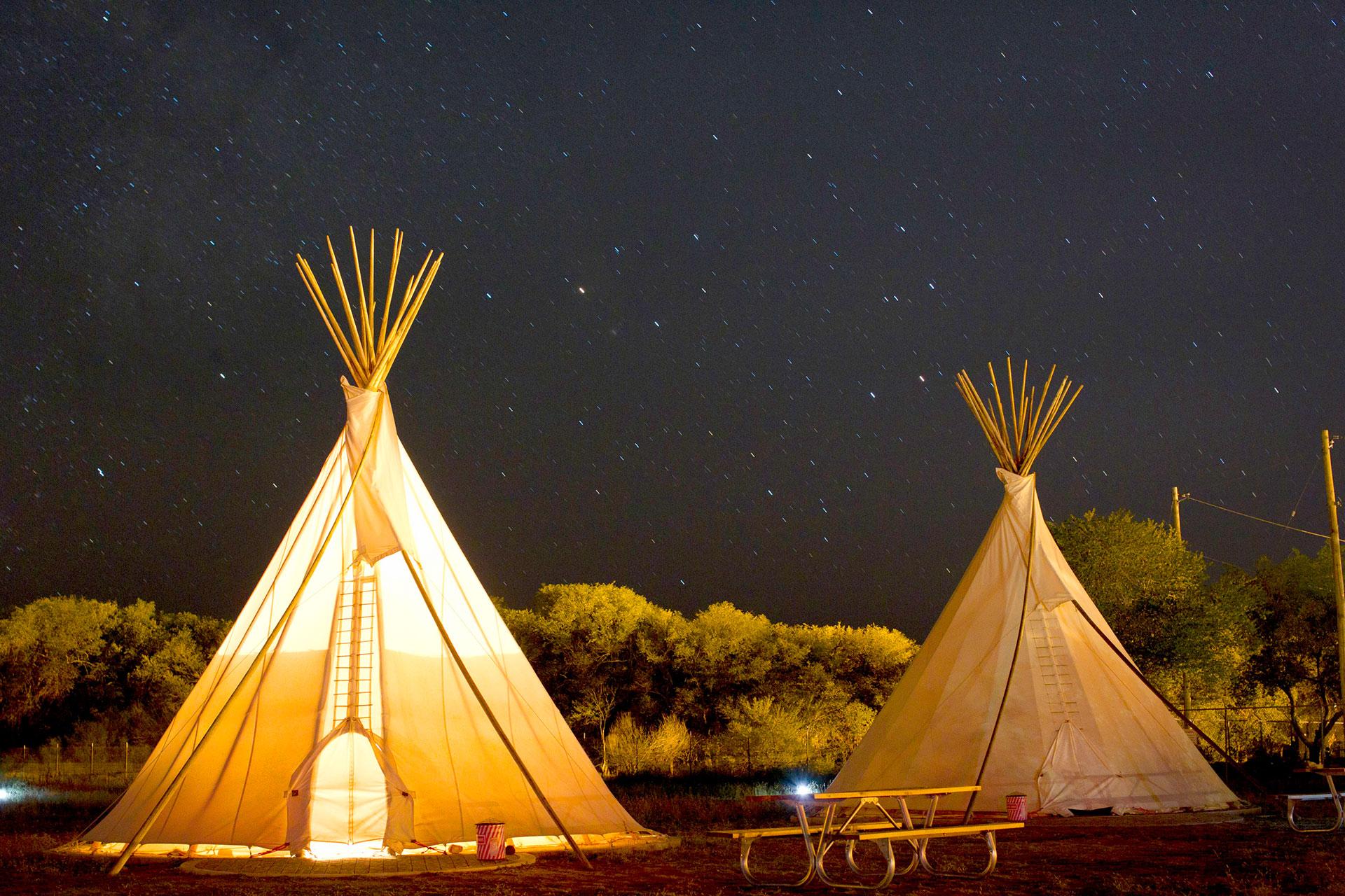 El Cosmico Hotel — Tepees Marfa Texas