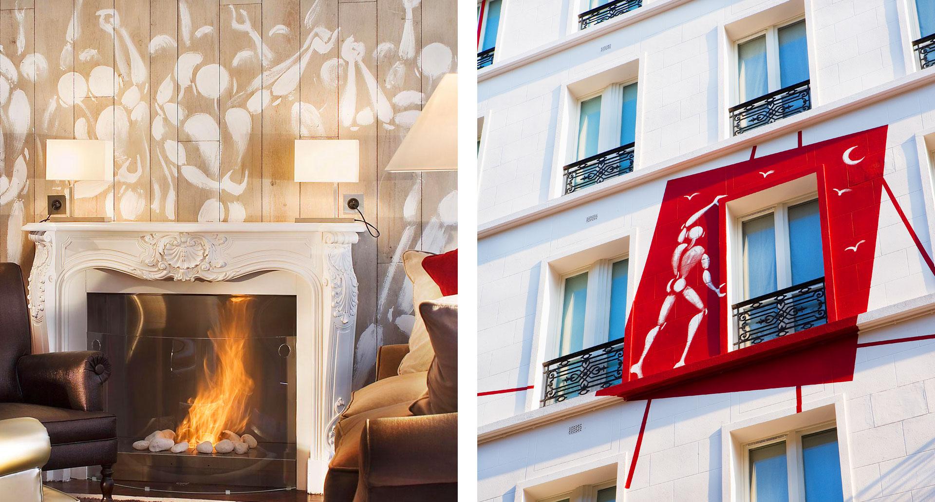 Hôtel des Académies et des Arts - boutique hotel in Paris