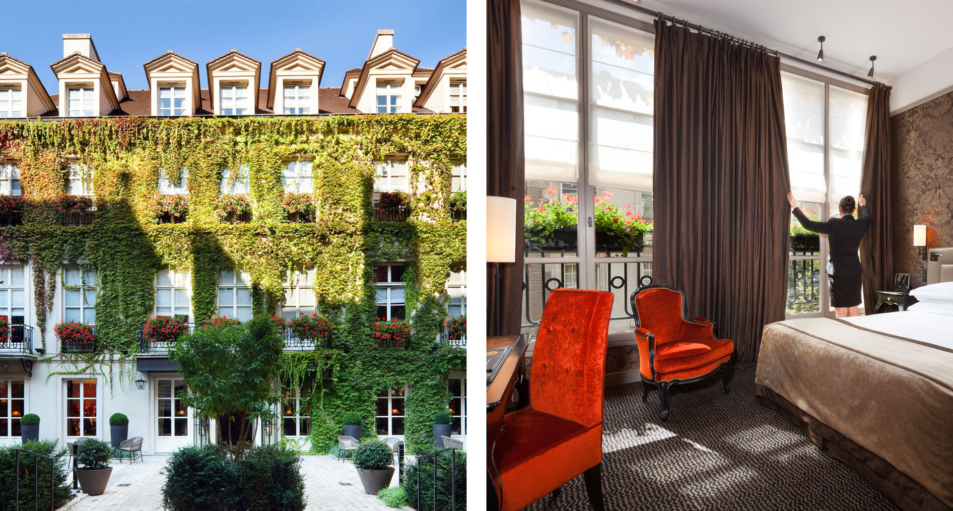 Le Pavillon De La Reine & Spa - boutique hotel in Paris