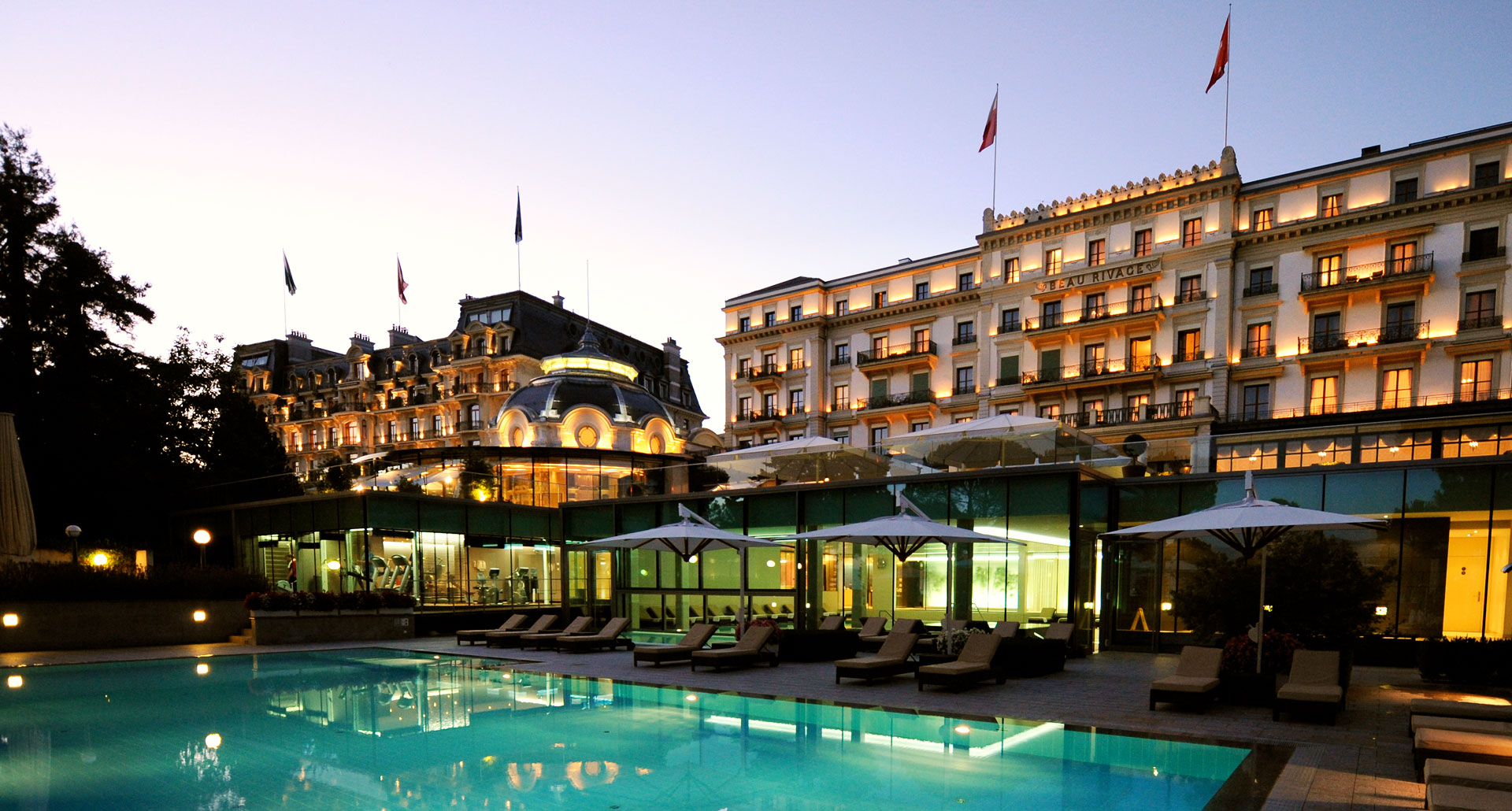 Beau-Rivage Palace - boutique hotel in Lausanne