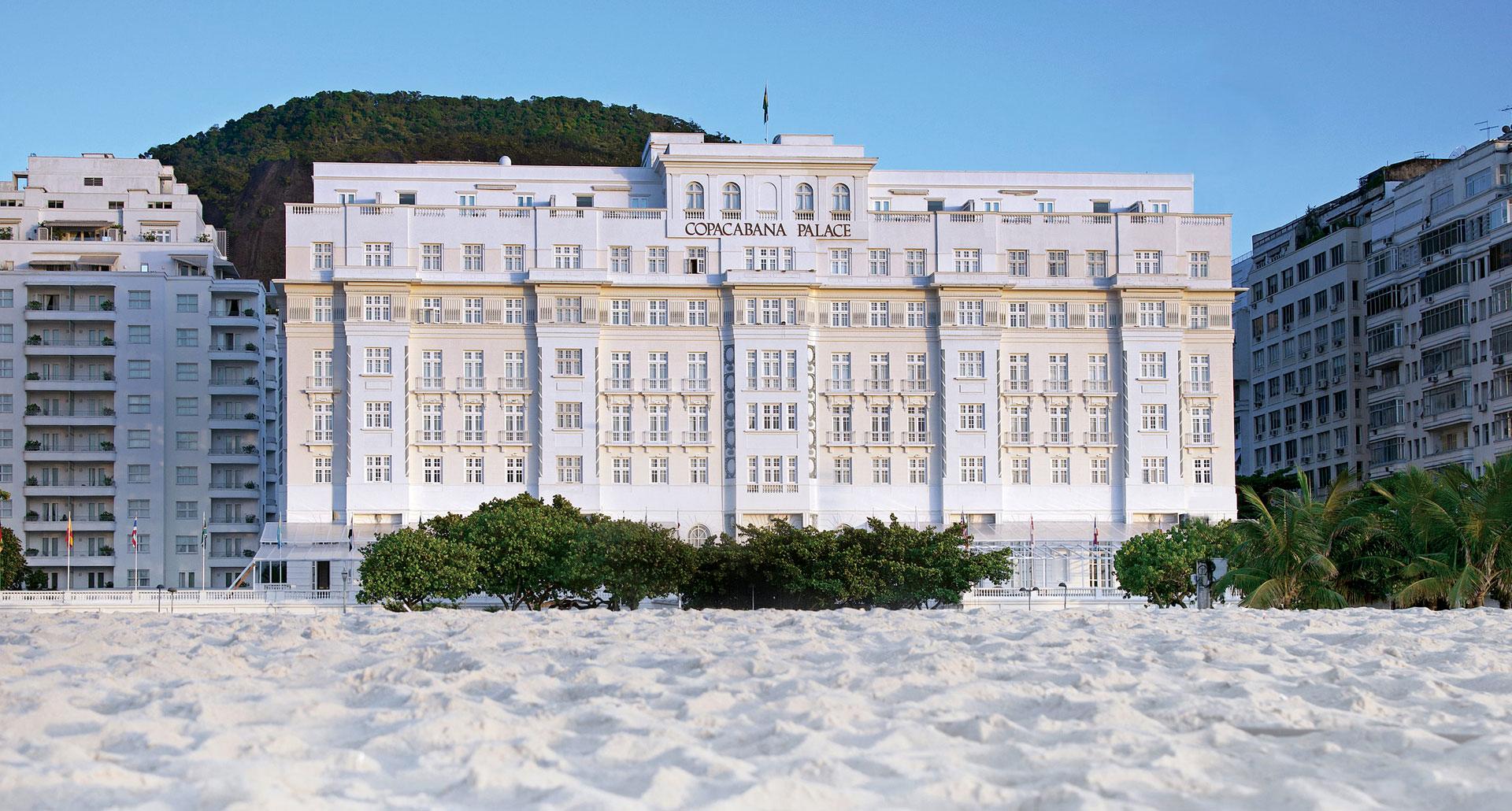 Belmond Copacabana Palace - boutique hotel in Rio de Janeiro