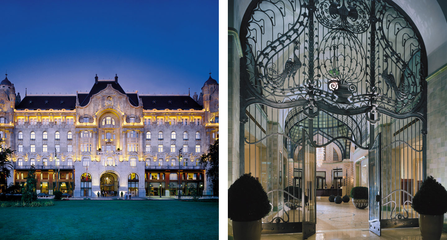 Four Seasons Hotel Gresham Palace - boutique hotel in Budapest