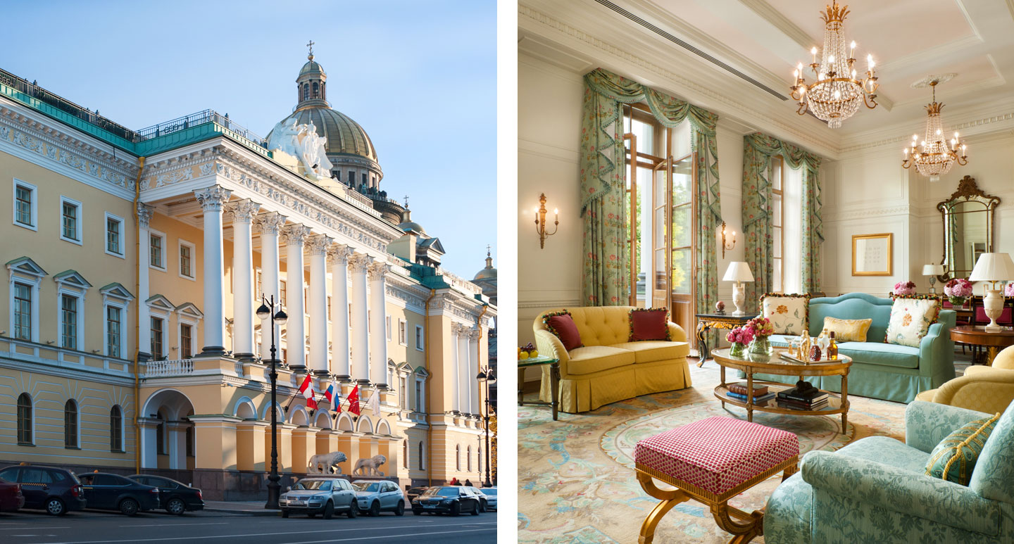 Four Seasons Hotel Lion Palace - boutique hotel in St. Petersburg