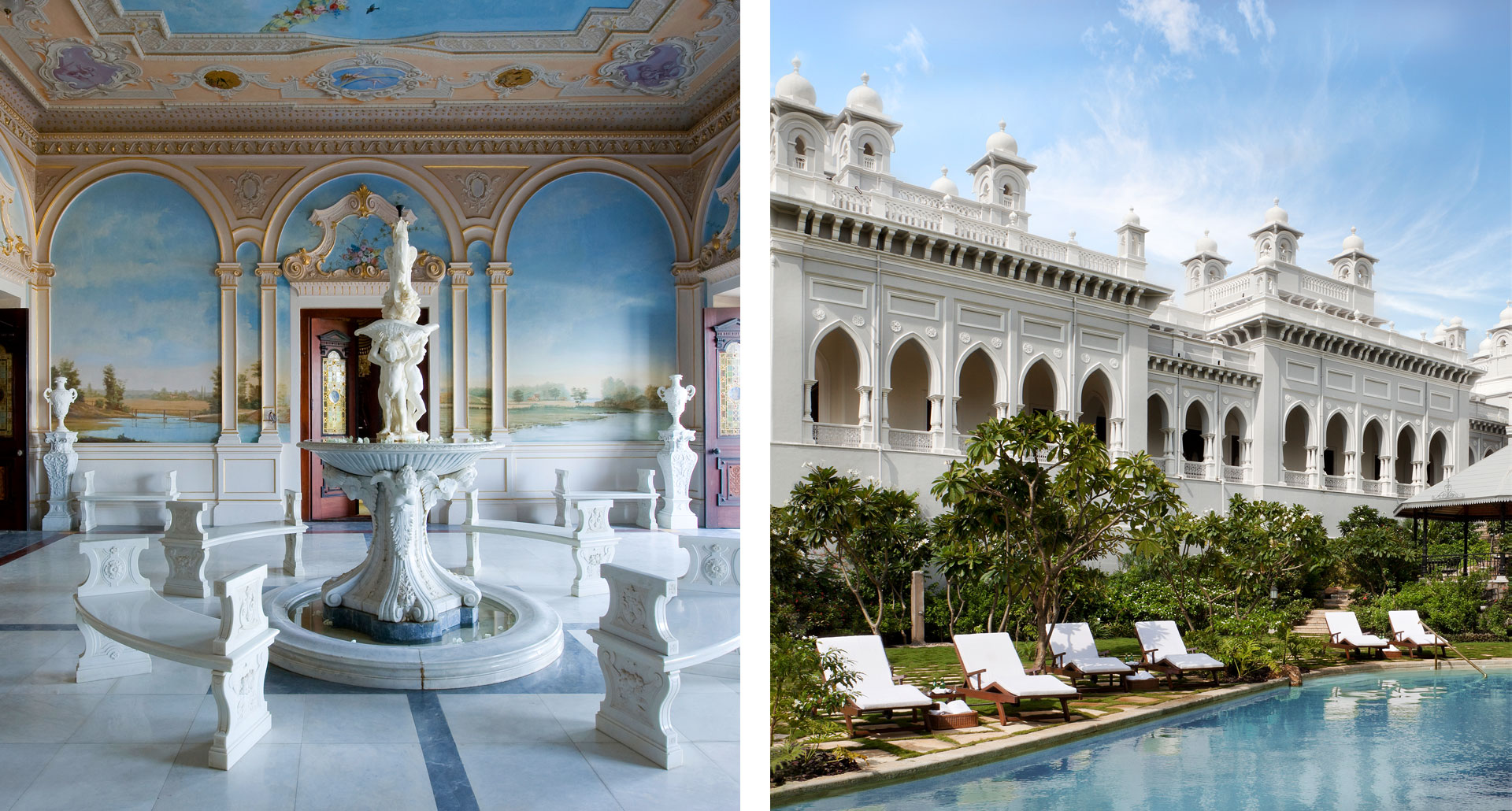 Taj Falaknuma Palace - boutique hotel in Hyderabad