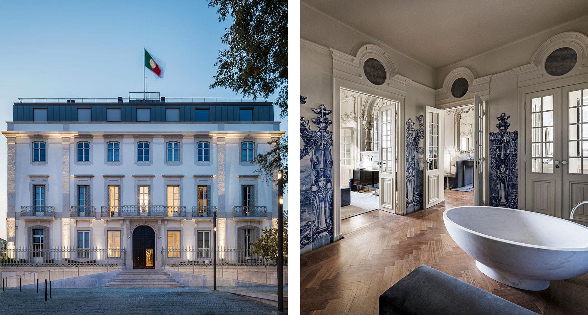 Verride Palacio Santa Caterina - boutique hotel in Lisbon