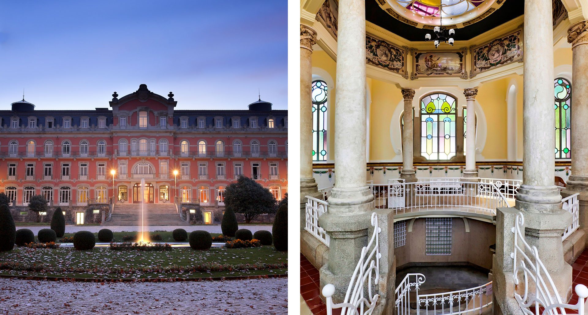 Vidago Palace - boutique hotel in Vidago