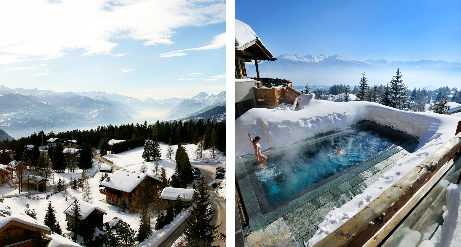 LECRANS HOTEL & SPA - boutique hotel in Crans Montana