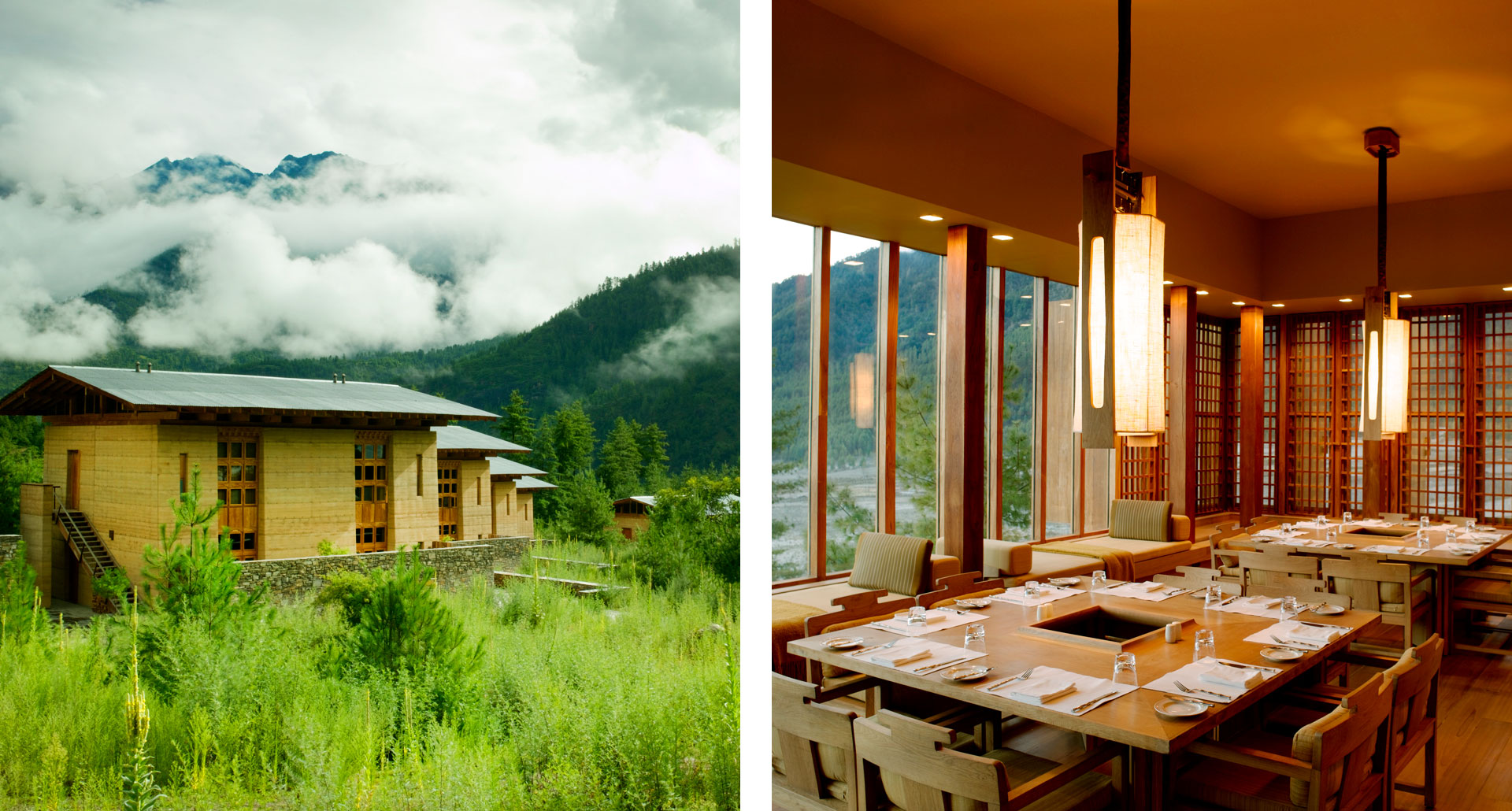 Amankora - boutique hotel in Bhutan