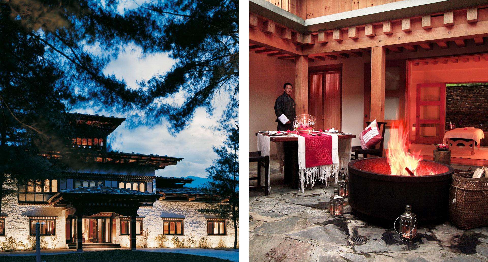 Como Uma, Paro - boutique hotel in Bhutan