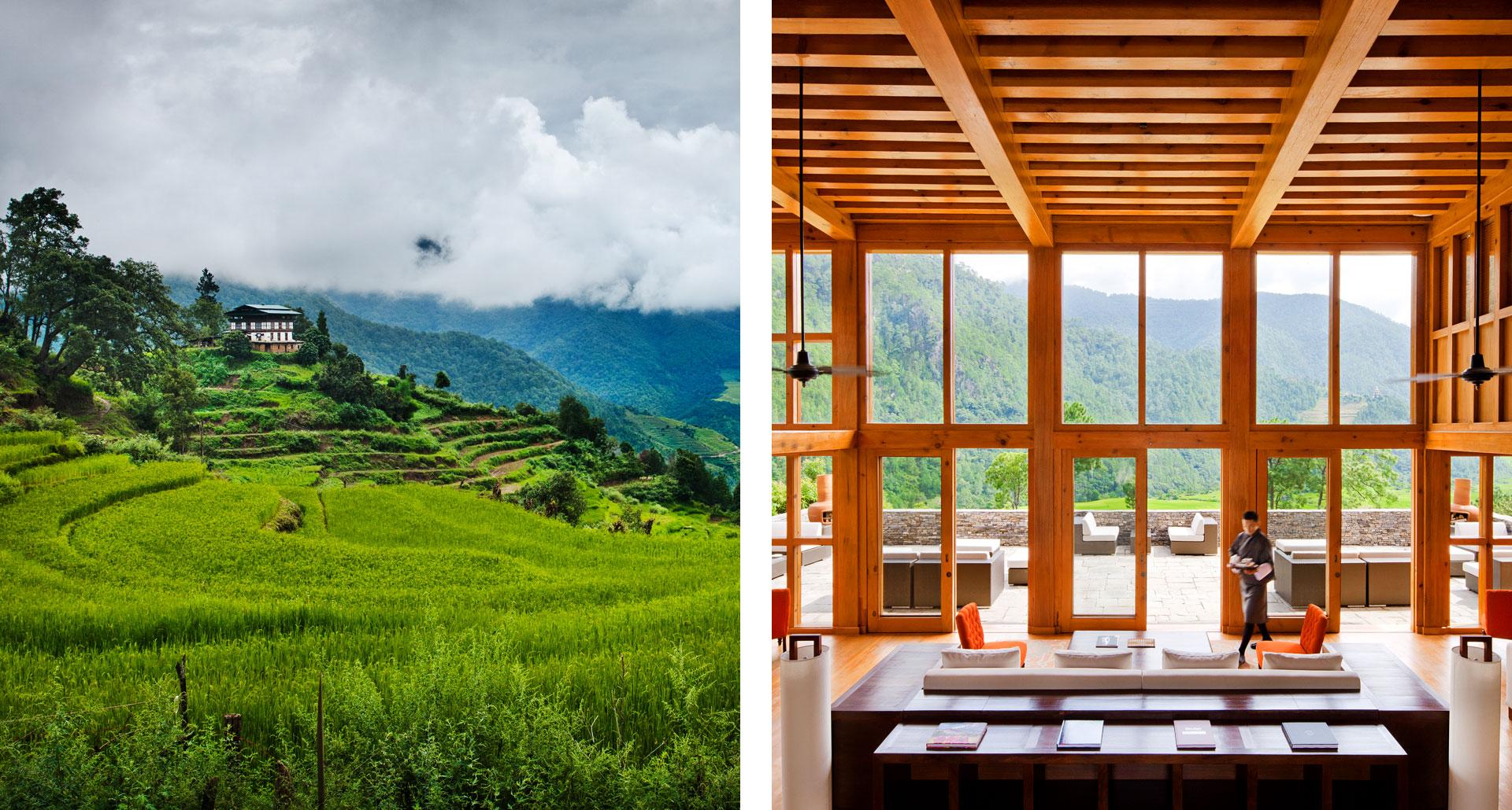 Como Uma, Punakha - boutique hotel in Bhutan