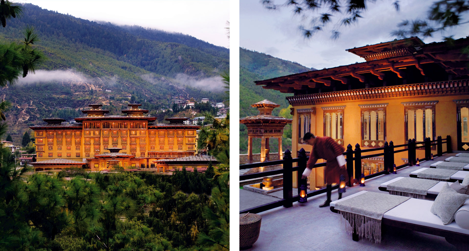 Taj Tashi Thimpu - boutique hotel in Bhutan