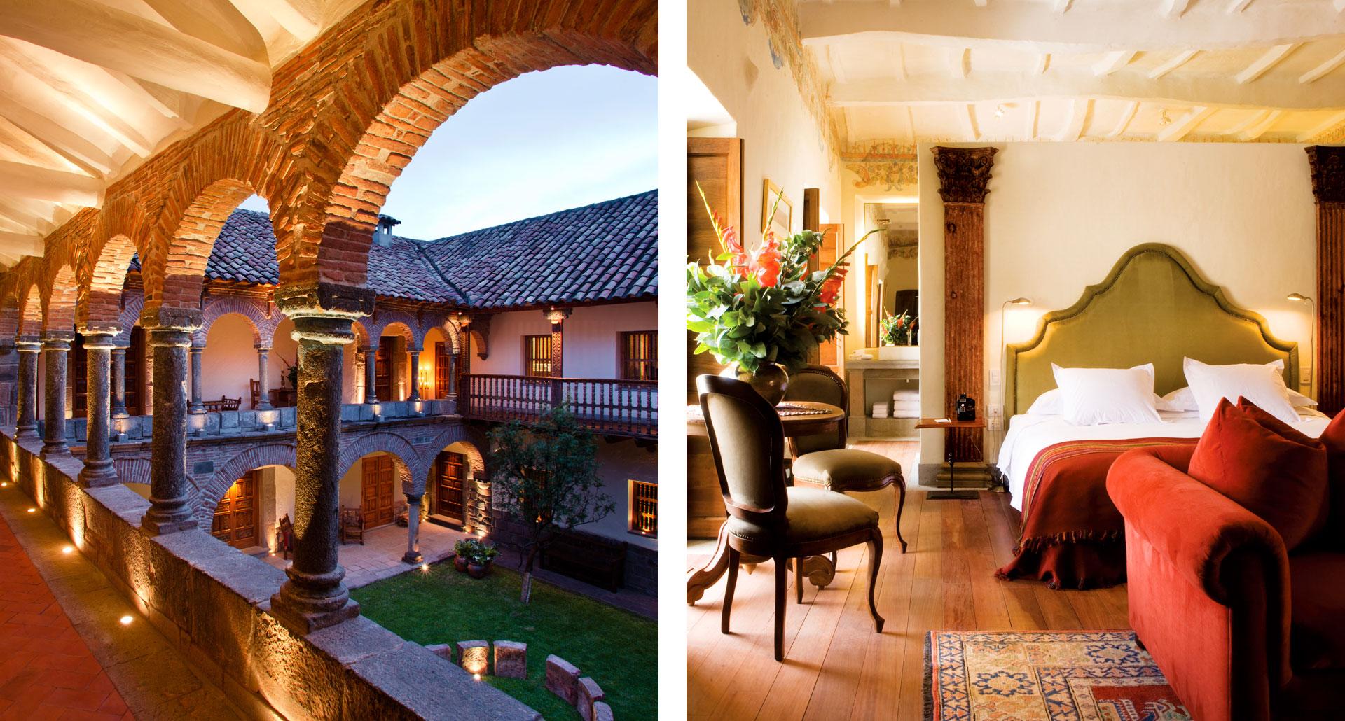 Inkaterra La Casona - boutique hotel in Cusco