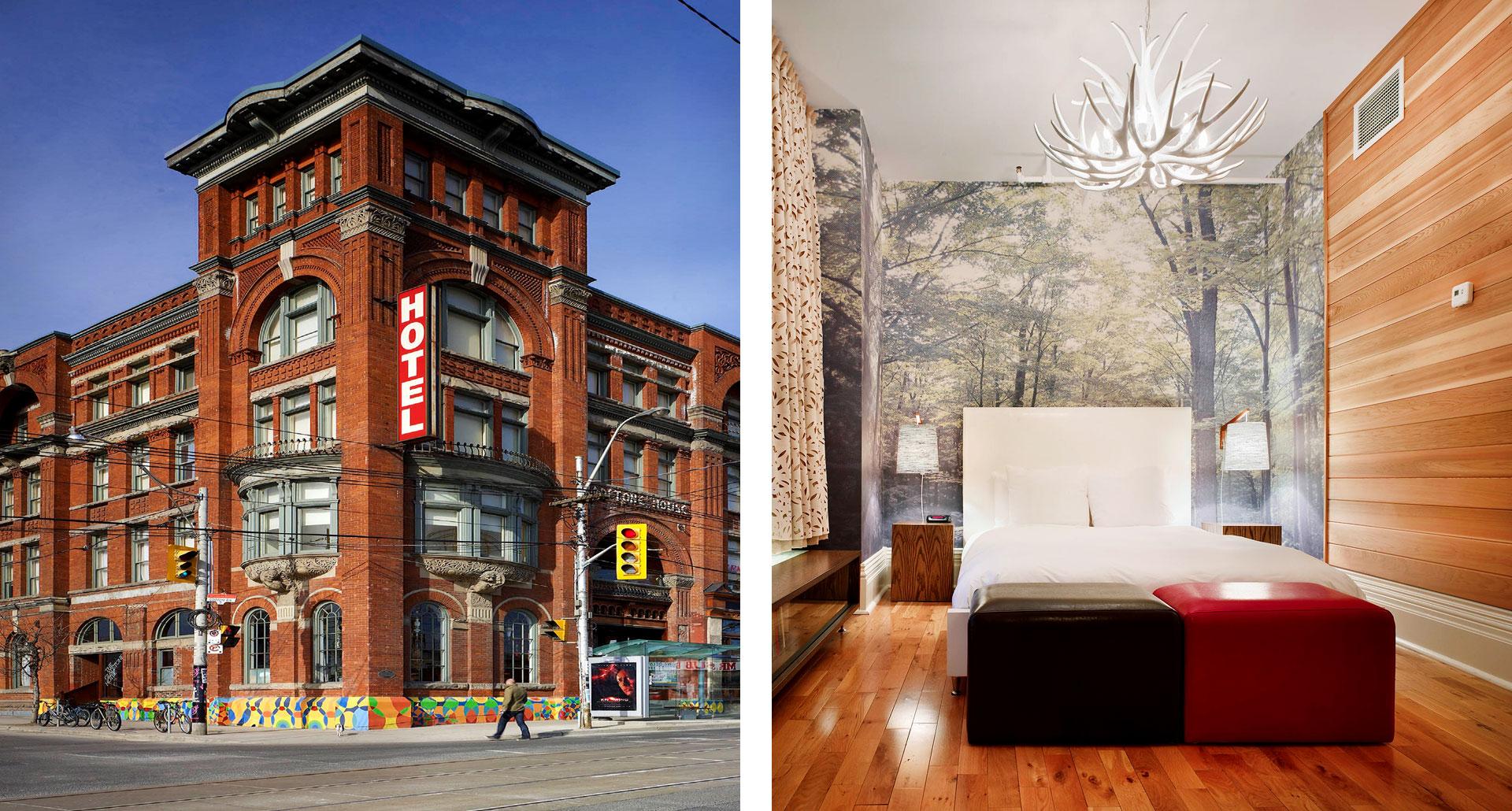 Gladstone Hotel - boutique hotel in Toronto