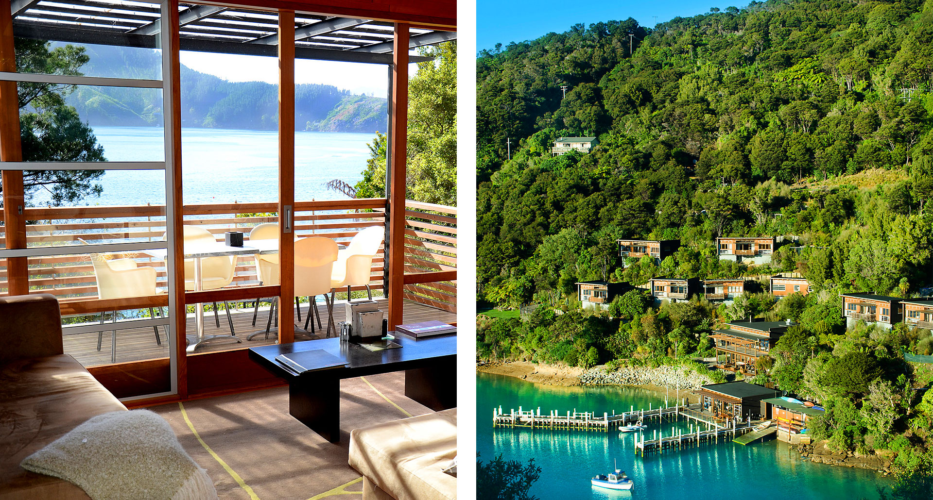 Bay of Many Coves - boutique hotel in Marlborough