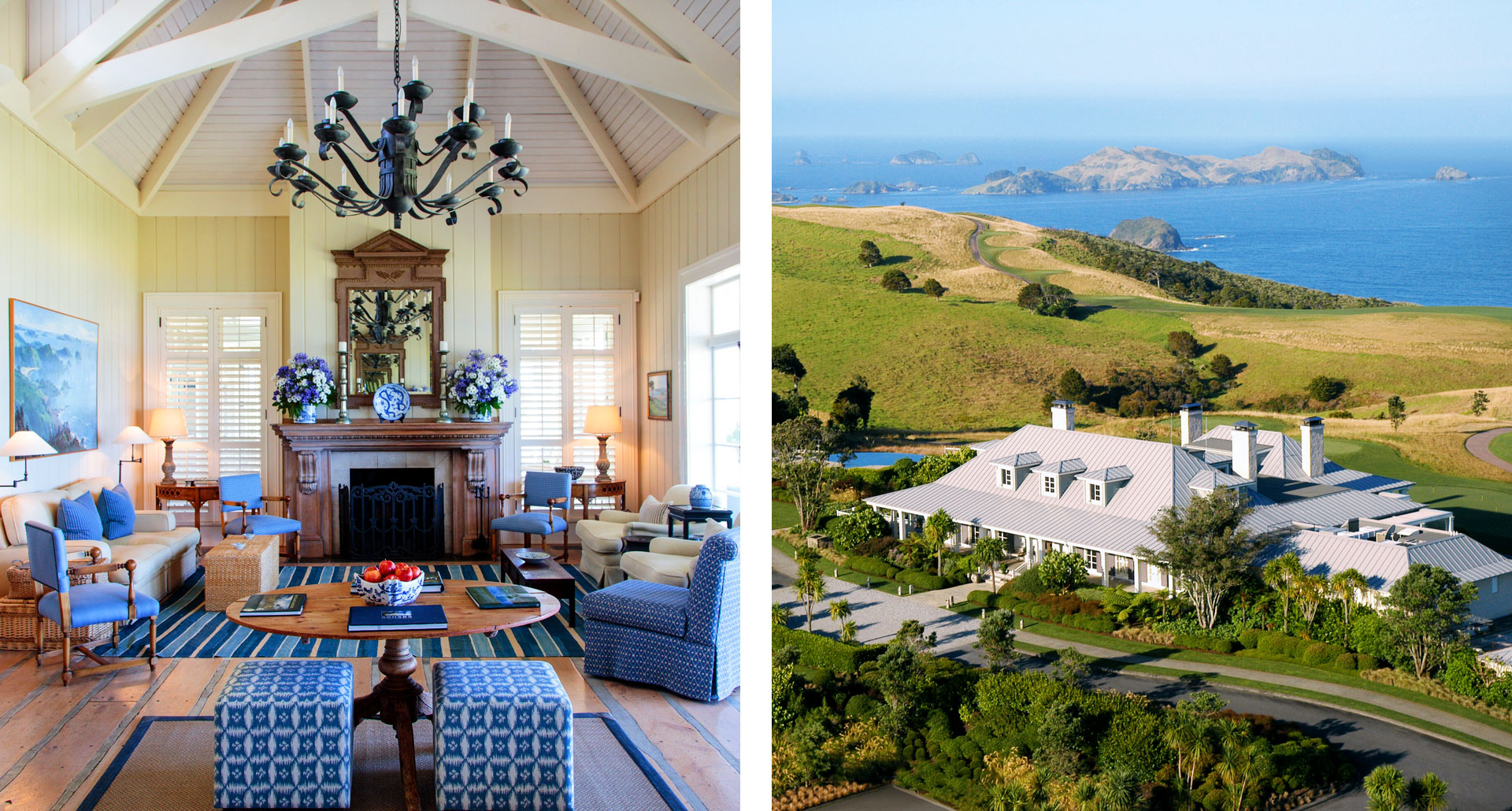 The Lodge at Kauri Cliffs - boutique hotel in Bay of Islands
