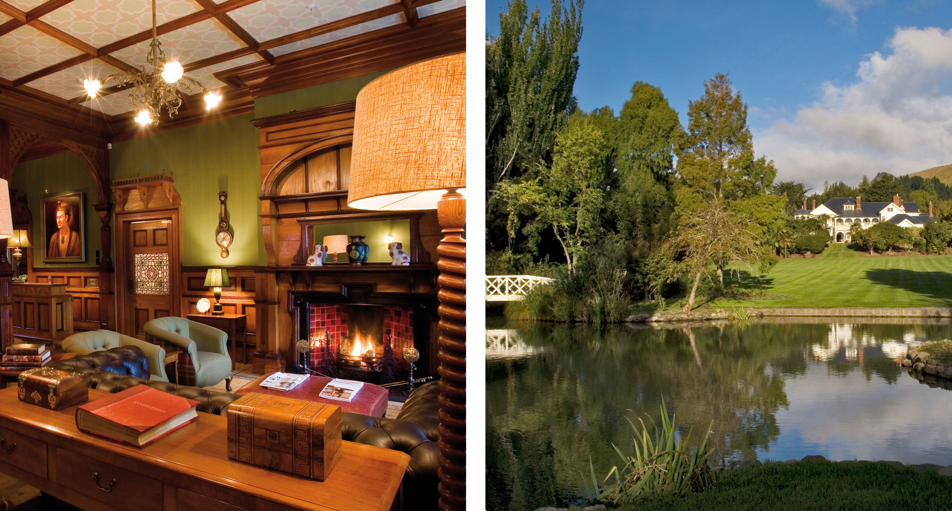 Otahuna Lodge - boutique hotel in Christchurch