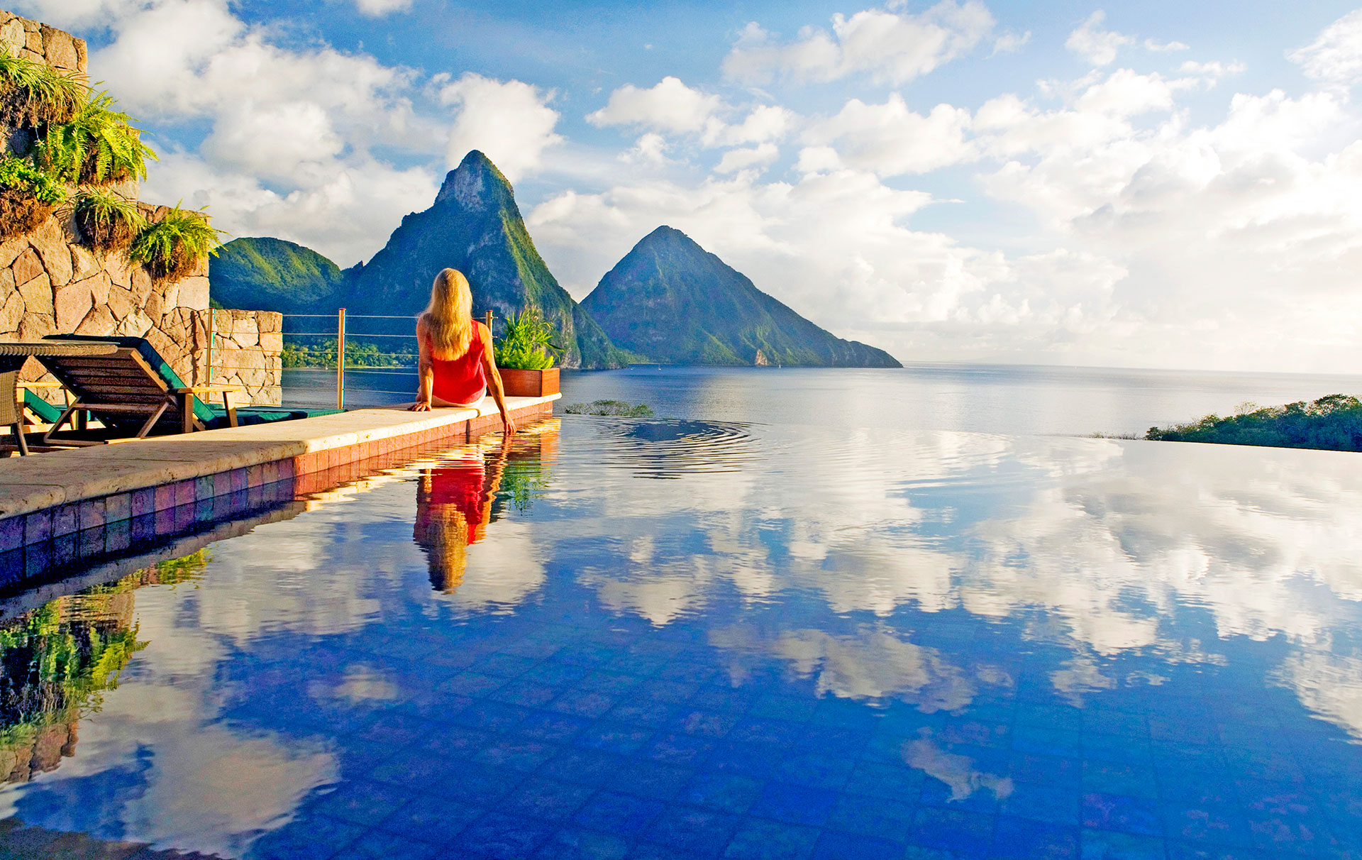 JADE MOUNTAIN - boutique hotel in Soufriere