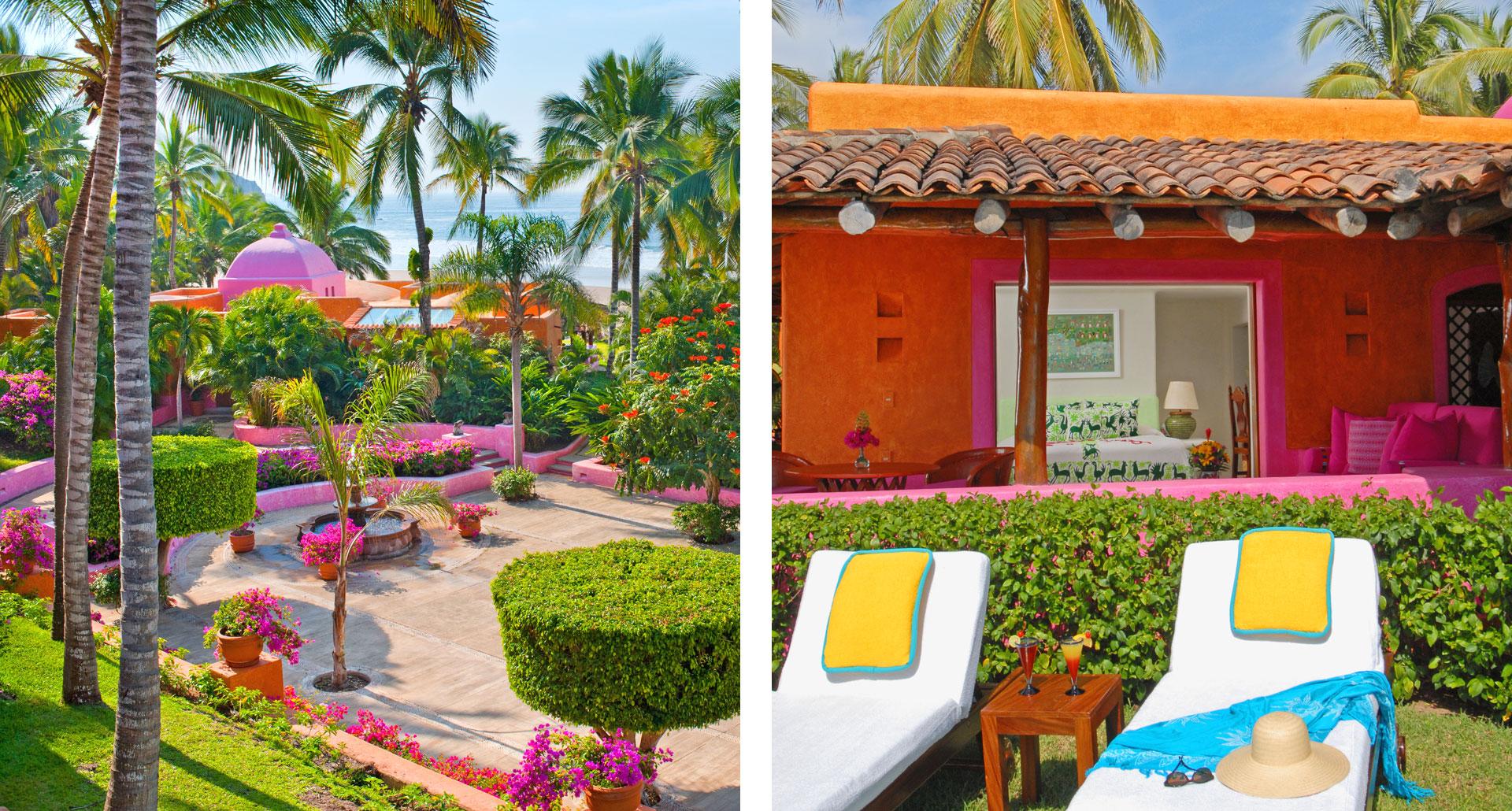 Las Alamandas - boutique hotel in Quemaro