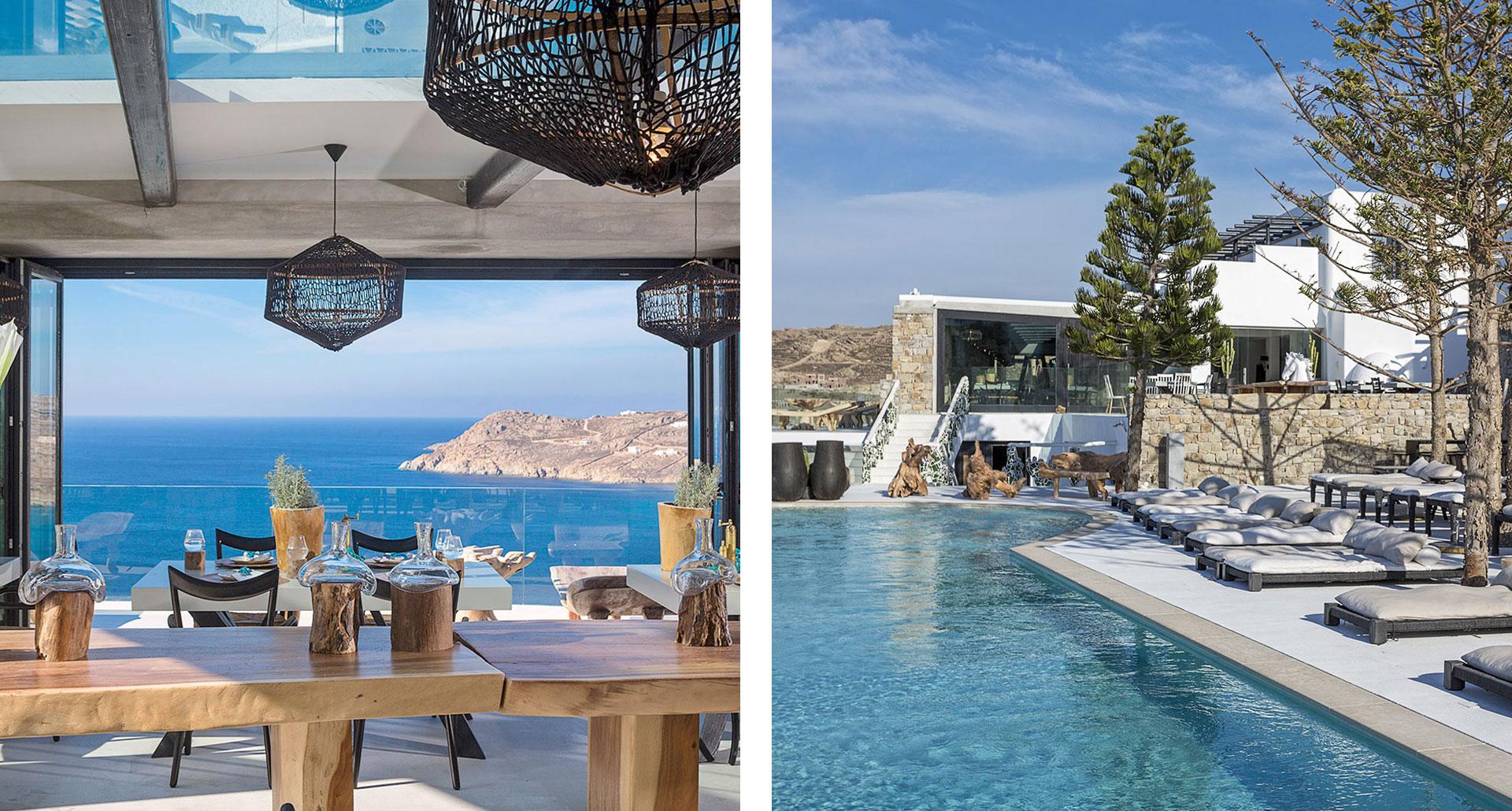 Myconian Utopia Resort - boutique hotel in Mykonos