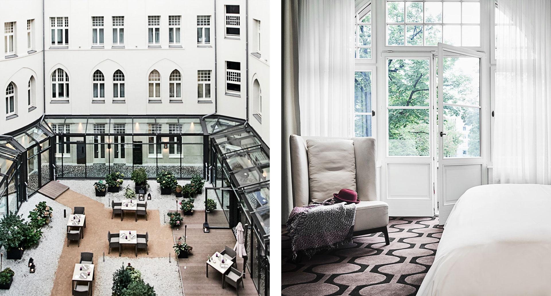 Hotel Am Steinplatz - boutique hotel in Berlino
