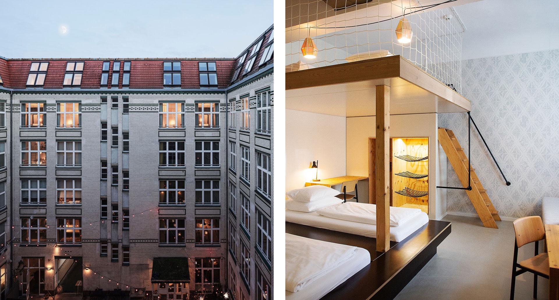 Michelberger Hotel - boutique hotel in Berlino