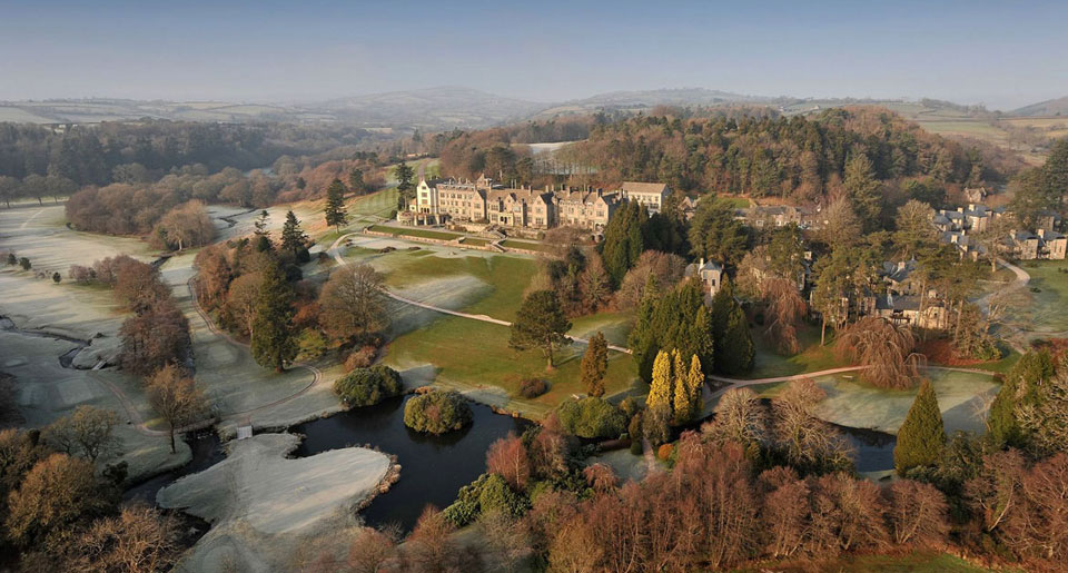 Bovey Castle - boutique hotel in Devon