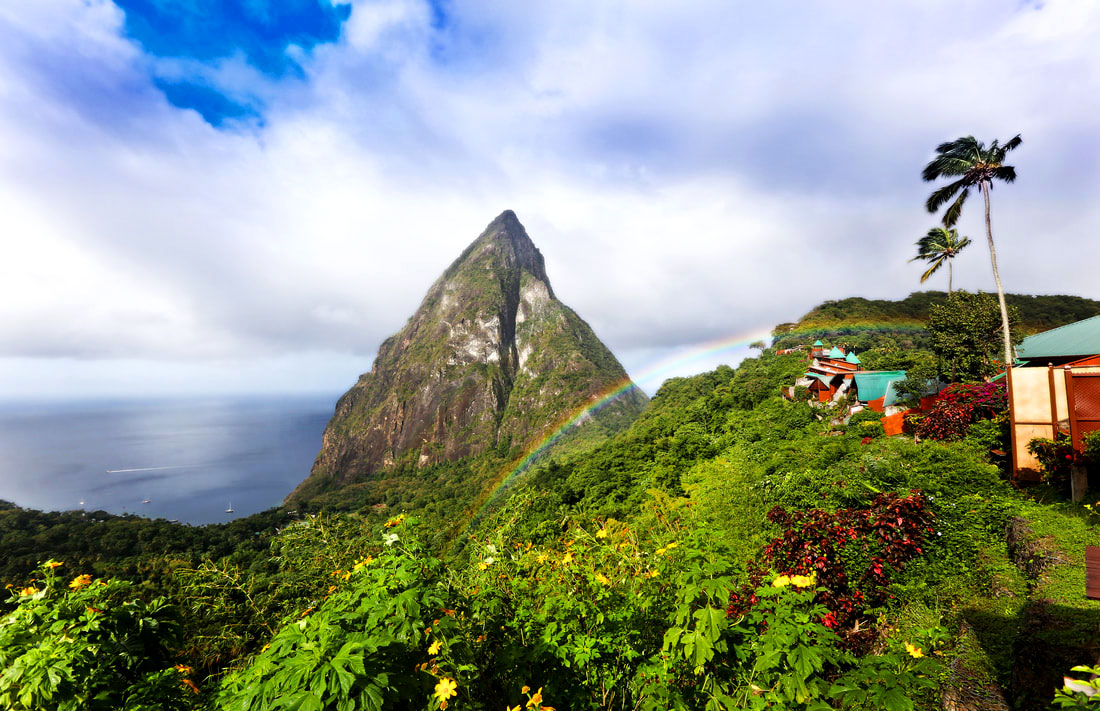 Ladera Resort - boutique hotel in Soufriere