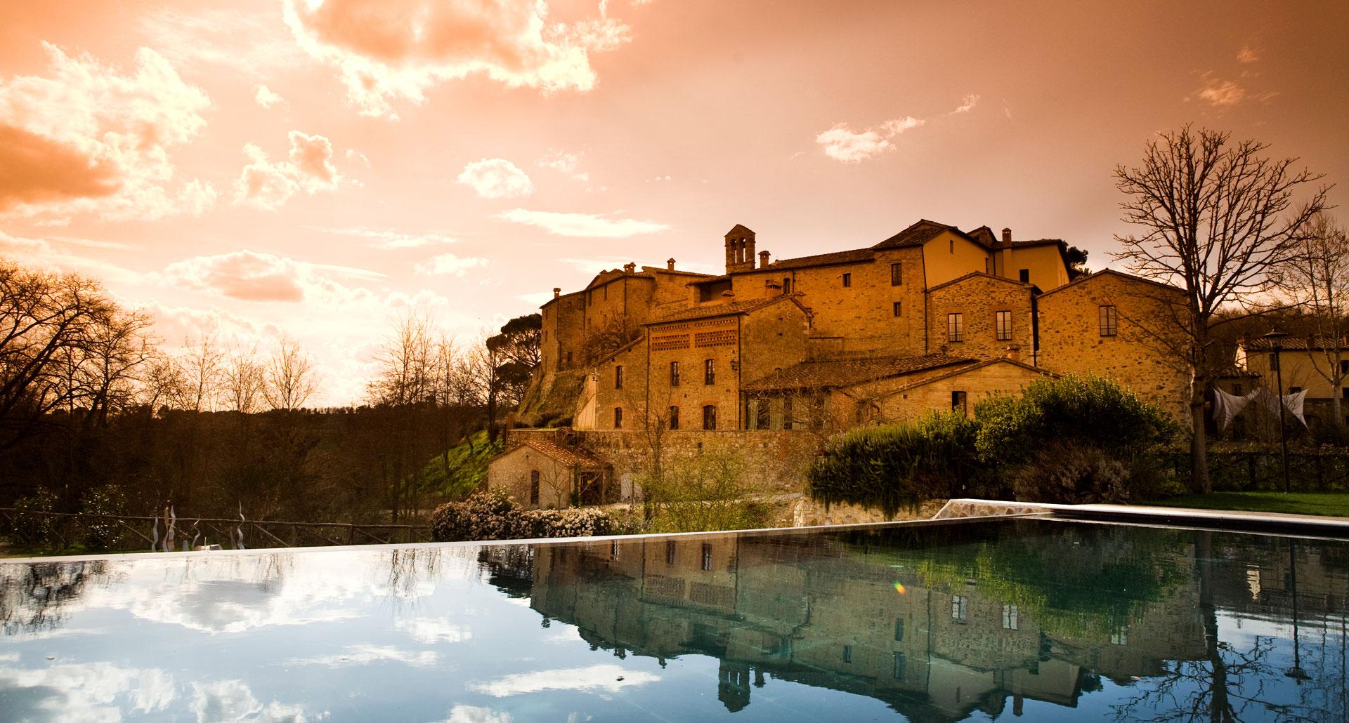 Castel Monastero - boutique hotel in Tuscany