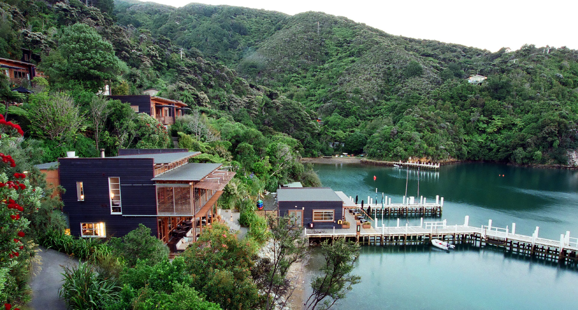 Bay of Many Coves - boutique hotel in New Zealand