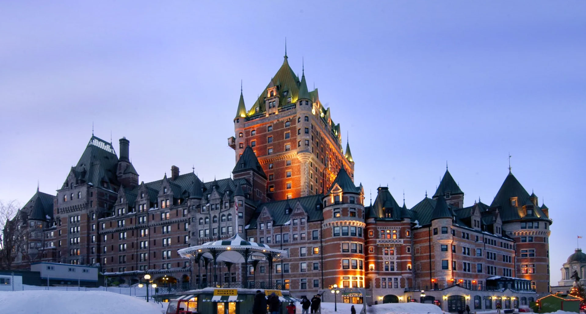 Le Chateau Frontenac - boutique hotel in Quebec City