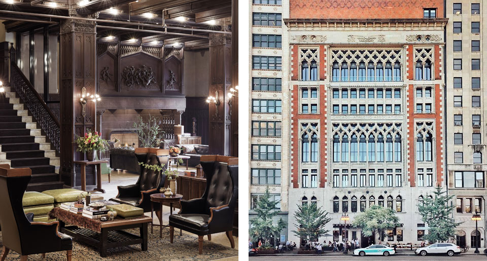 Chicago Athletic Association - boutique hotel in Chicago