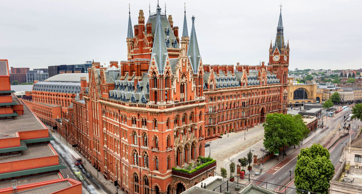 St. Pancras Renaissance Hotel - boutique hotel in London