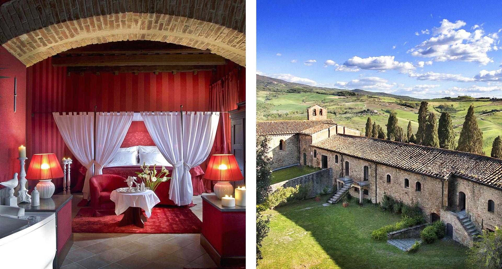 Castel Porrona Relais - luxury boutique hotel in Cinigiano