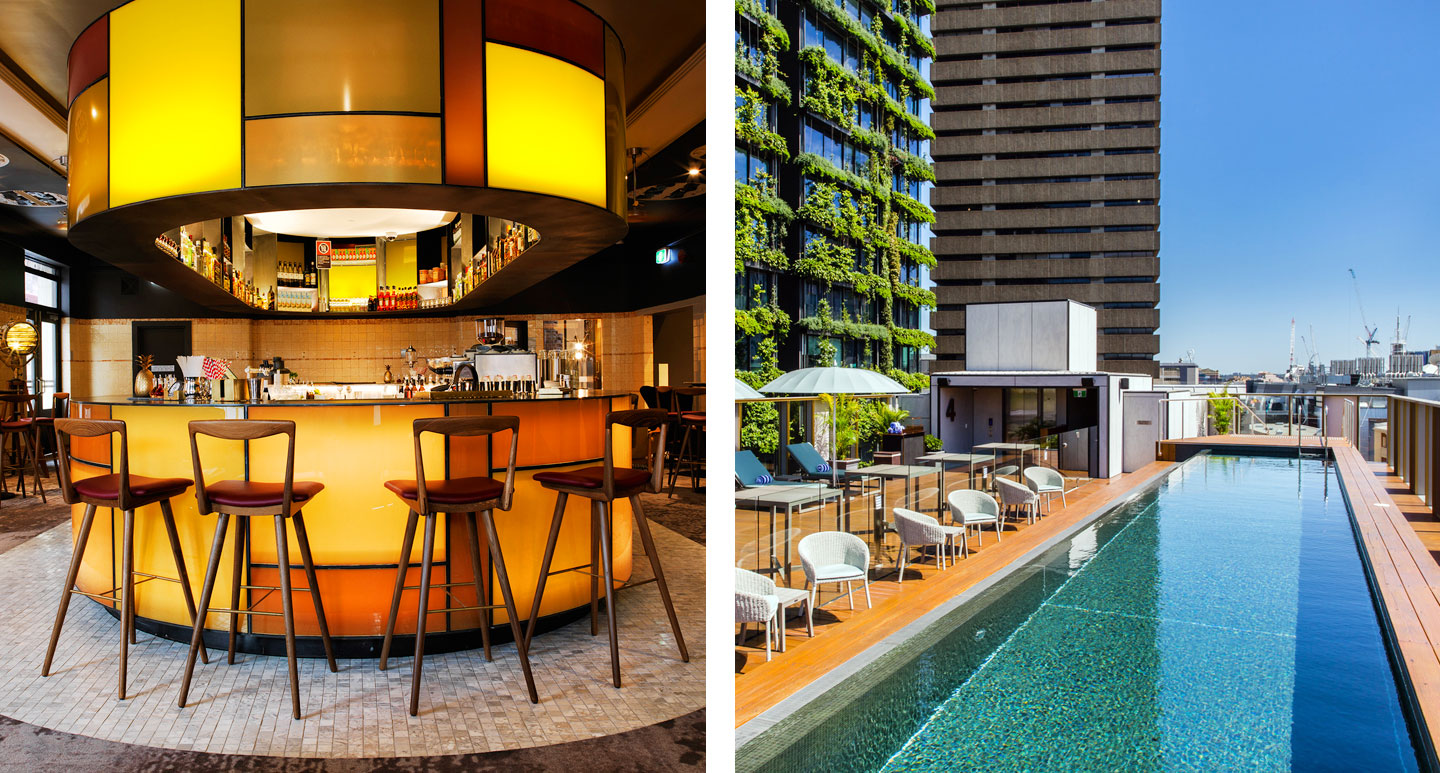 The Old Clare Hotel - luxury boutique hotel in Sydney