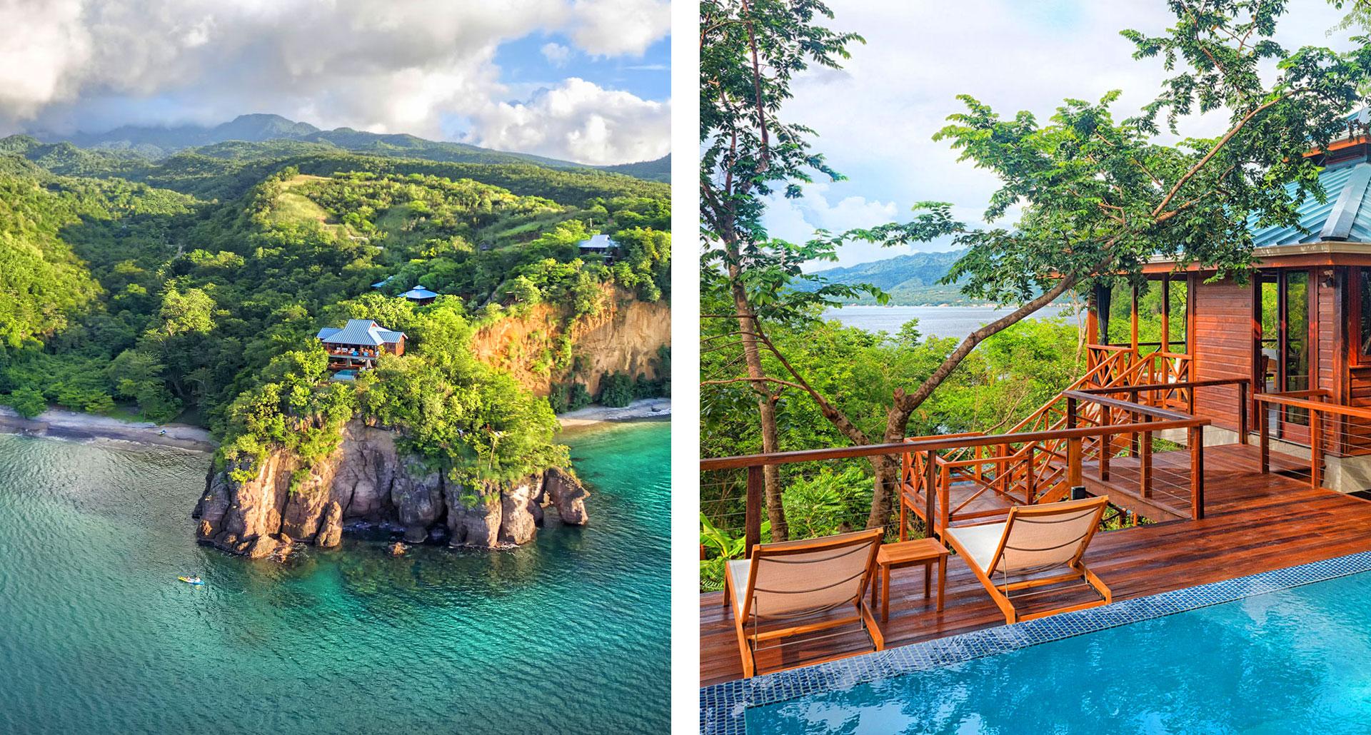 Secret Bay - boutique hotel in Dominica