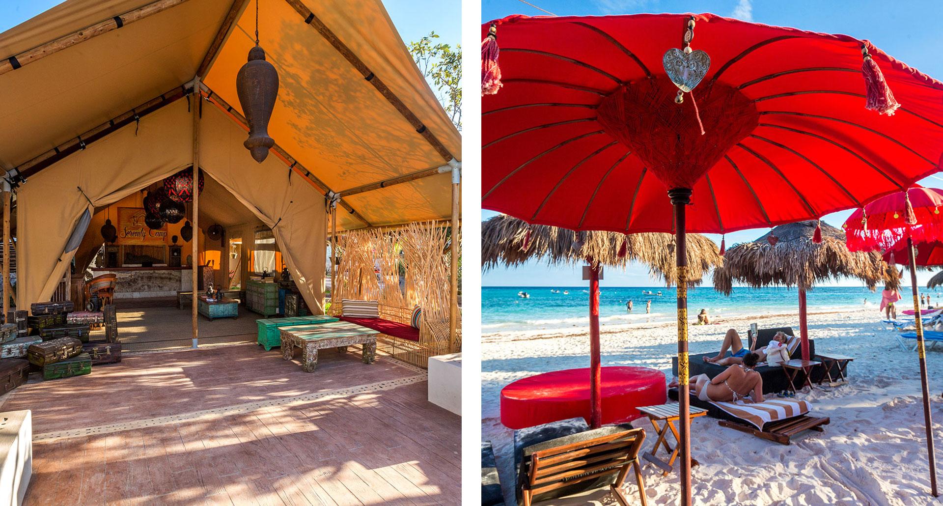 Serenity Eco Luxury Tented Camp - boutique hotel in Playa del Carmen