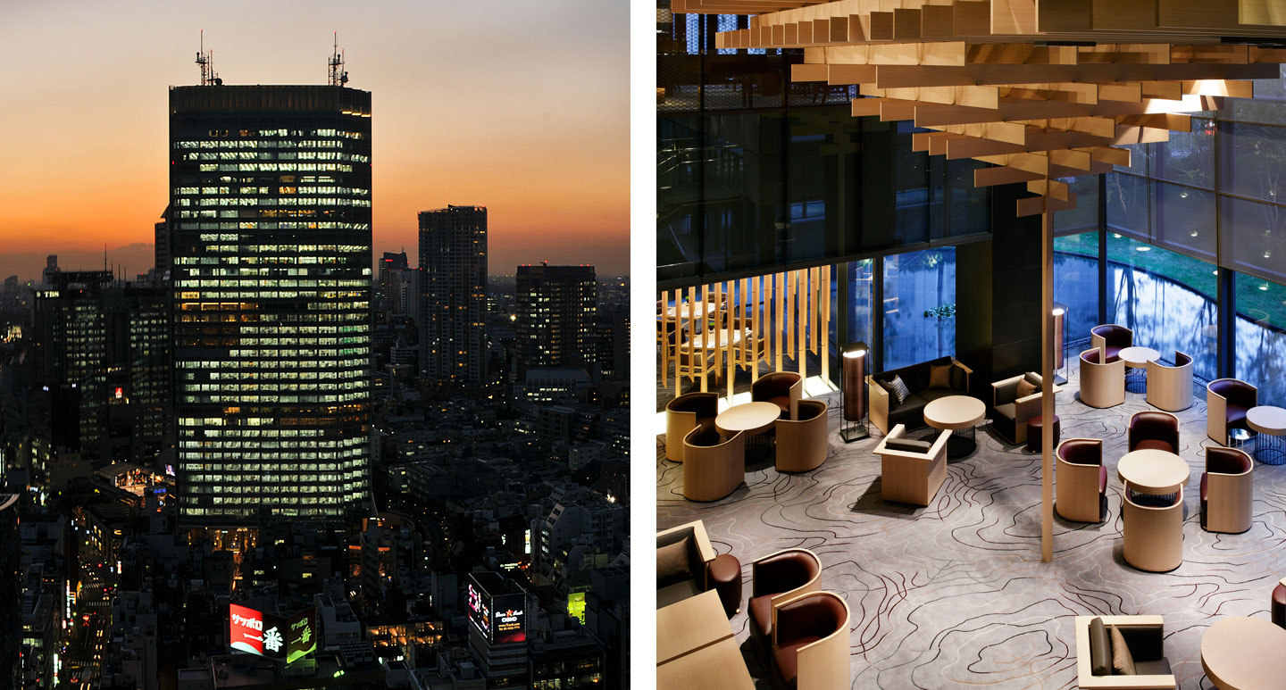 Tokyo boutique hotel - The Capitol Hotel Tokyu